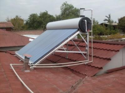 Calentador Solar con Coil