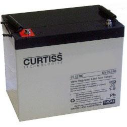 Baterías Ciclo Profundo Curtiss 70Ah