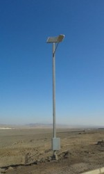 Poste Solar 40W Lumlight LED